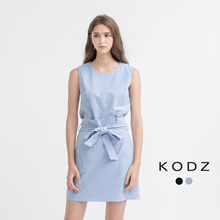 KODZ - Tailored Tank Top and Skirt Set-171655