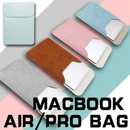 ★11 13 15 inch Macbook Air Pro Touch Bar Bag★Ultra-thin Leather Laptop Sleeve Ultrabook Cover Cas