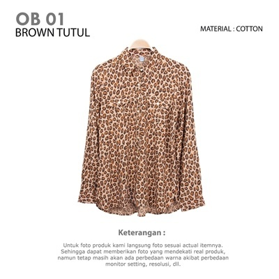 OB 01 BROWN TUTUL