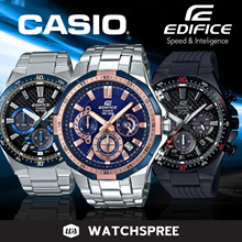 *APPLY 25% OFF COUPON* CASIO EDIFICE COLLECTION! Free Shipping and 1 Year Warranty!