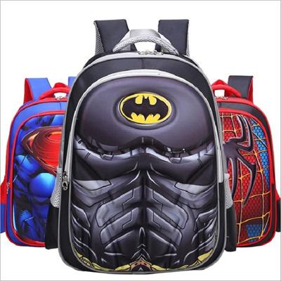 fa16e8a204  Mr.Xu Hot EVA 3D Cartoon children schoolbag Boy Anime Spiderman school  Backpack