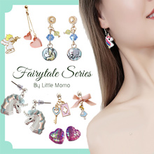 LITTLE MOMO 🧜 FAIRYTALE EARRINGS 🧜 MERMAID UNICORNS PRINCESS