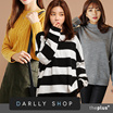 Super Time Sale!! ★darllyshop★ Autumn tee / T-shirts /  Korea Open Market Best Selling Tee /knit / long t-shirts / korean fashion / hoodies