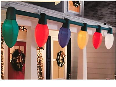 Gemmy Christmas Lights.Gemmy Holiday Living Giant Inflatable C9 Christmas Light Bulb String Outdoor