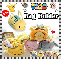 ★Tsum Tsum Bag Holder ★Pokemon ★Bee Series★ tsum toy ★soft toy★Bag holder★Storage★Cartoon character★