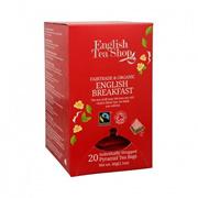 English Tea Shop OG (Pyramid Envelops) English Breakfast - Fair Trade 60g - UK