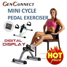 ⏰SEE VIDEO INSIDE!★USA Export Set★Mini Cycle Pedal Exerciser Digital Display! Foldable Physiotherapy