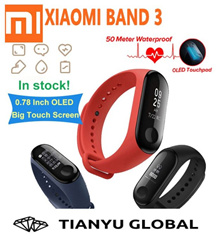 ⭐LOCAL SHIPPING!⭐ Original MI BAND 3 / Xiaomi Mi Band 2 MiBand 2 Sports Smart Wristband Bracelet Heart Rate Fitness
