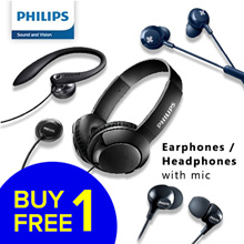 Philips 1 for 1 deal | Earphones Headphone with Mic up for grabs