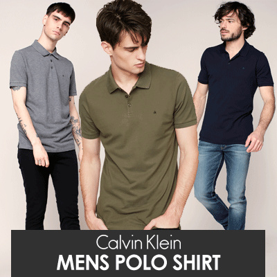 New Arrival Branded Mens Polo Shirt CK Deals for only Rp79.000 instead of Rp79.000
