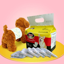【BUY 4 FREE SHIPPING】Pet supplies / dog physiology pants / dog diapers / male dog diaper Teddy diapers