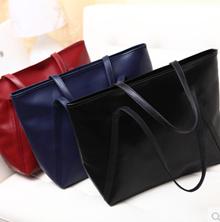 時尚手袋復古氣質的黑色大包休閒手提包單肩包手包潮