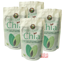 Country Farm Organic Chia Seed 250g X 4 (High Quality)