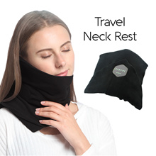 Case Valker Travel Pillow TRTL Foldable Compact Neck Rest Cold Protector Neck Pillow Ultra Comfort