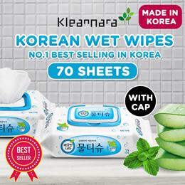 [Kleannara] Korean Peppermint Wet Wipes