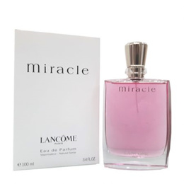 PERFUME LANCOME MIRACLE FOR WOMEN 100ML EDP SPRAY TESTER PACK FRAGRANCE