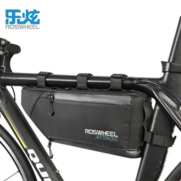 28a9ea56fa6 ROSWHEEL ATTACK 100% Waterproof Bicycle Bag Storage Front Frame Tube  Triangle Bag Cycling Firmly in