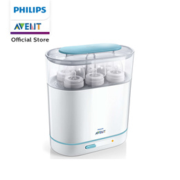Philips Avent 3 In 1 Electric Steam Sterilizer with free 2 via cups