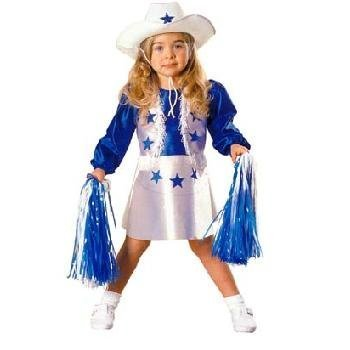 (NFL) Dallas Cowboys Cheerleader Costume (SizeToddler)  sc 1 st  Qoo10 & Qoo10 - (NFL) Dallas Cowboys Cheerleader Costume (Size:Toddler ...