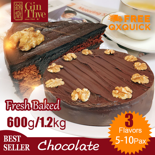 LIMITED TIME OFFERBest Seller!! Chocolate Cake 600G?Made in SG?Fresh Baked?FREE SHIPPING