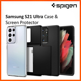 Spigen Samsung S21 Ultra Case Galaxy S21 Ultra Case Samsung S21 Ultra Casing Cover Screen Protector