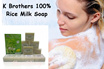 K Brother Rice Milk Soap ( New Packing RM19.9/Dozen)