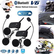 Wired Headset Mic/Speaker+Clip for V4/V6 Motorcycle Bluetooth Helmet Intercom