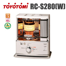 [Special Price] Toyotomi Oil Stove RC-S280 (W) / Camping Stove / Free Shipping / Tax-included / TOYOTOMI / For Camping / Shipping Directly from Japan /