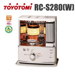 [특가] 도요토미 석유 스토브 RC-S280(W) / 캠핑난로 / 무료배송 / 관부가세 포함가 / TOYOTOMI / 캠핑용 / 일본직발송 / 앱쿠폰가 186.4불