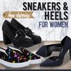 BAZAAR !!! Sepatu Wanita - Sneakers  and Heels - Good Quality - Free Shipping Jabodetabek in 50 Styles