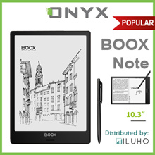 ONYX BOOX Note 10.3 Inch E Ink Screen Anti-Glaring Android Tablet with Wacom Stylus Pen + Free Cover