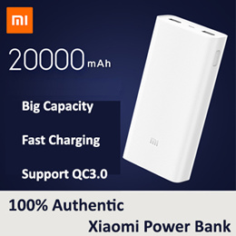 100% Authentic Xiaomi Mi PowerBank 2nd Generation 5000mAh 20000mAh Mobile