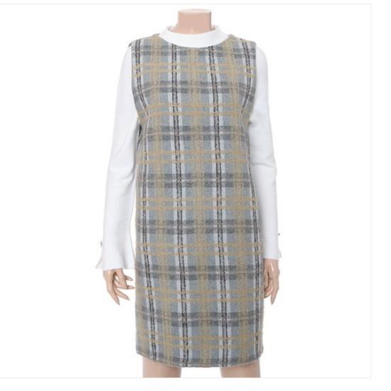 ナイスクルラプシンプル、袖なしのワンピースN164MSE019 シフォン/レース/フリル/ 韓国ファッション