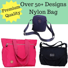 More Compartment Ladies Nylon Premium Quality Bag/ Sling Bag/ Mini Bag/ Medium Bag/ Shoulder Bag