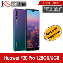 Huawei P20 Pro 128GB/6GB LTE Dual Sim Huawei Local Warranty