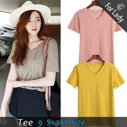 Buy 2 Free shipping ● Casual tops / Shirt / Blouses / Plus Size / Tops /Korea Fashion / Tee