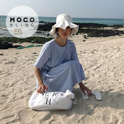 【MOCOBLING】 韓国ファッション ドレス / 愛情原皮シュー - ops