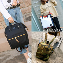 VIRENE Wholesale READY STOCK 3 Designs Japan Anello Casual Backpack Travel Backpack