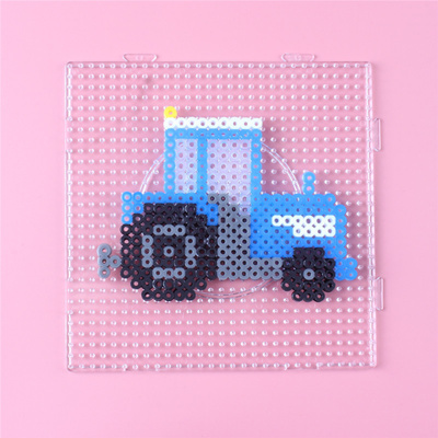 Factory 2 6mm 5mm Hama Bead Square Pegboard 3d Puzzle Template For Perler Beads Education Toys Fuse