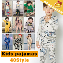 ◆Kids Long sleeve Pajamas◆ Cute home wear for baby/ Baby jumpsuits/ Comfortable design/ 40 Styles