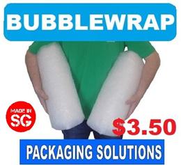 [SPORE] Bubblewrap Roll   $3.50 for 5 metre pack size  10 15 20   Polymailer Bubble Wrap