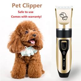 Pet dog cat clipper hair fur trimmer shaver grooming kit set