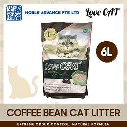 [Love Cat] Cat Litter (Coffee) 6L