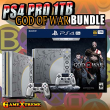 SONY PS4 Pro 1TB God of War 2018 Console Collector Edition Bundle w Local Warranty