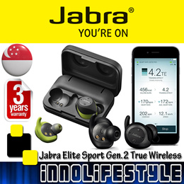 ★Jabra November Sales★ Jabra 2017 Elite Sport Gen 2 True Wireless Sport Earbuds ★3 Years Warranty★