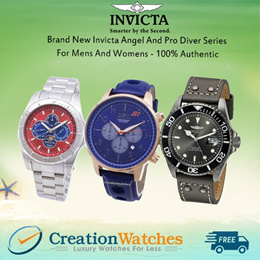 [CreationWatches] Brand New Invicta Angel And Pro Diver Series For Mens And Womens - 100% Authentic