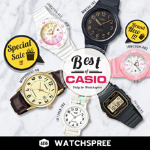 *CASIO GENUINE* BEST OF CASIO! Free Shipping and 1 Year Warranty!