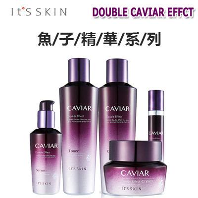 [Its skin]魚子精華雙效水・乳液・面霜・精華・眼霜・魚子精華的豐富營養護理~/Its Skin Caviar Double
