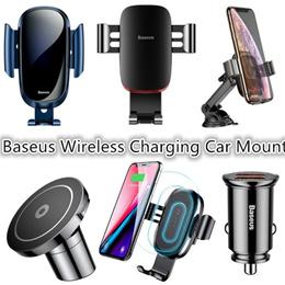 Baseus Wireless Charging Car Mount/Holder/Air Vent Car Mount/Car Accessories/QC3.0 Car Charger