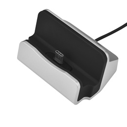 Charging Dock Station Holder Stand Docking Charger for Letv Xiaomi Silver